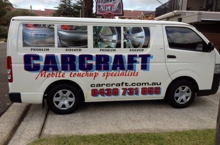 Carcraft Van On-Site