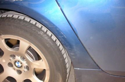 Wheel Arch Scratches