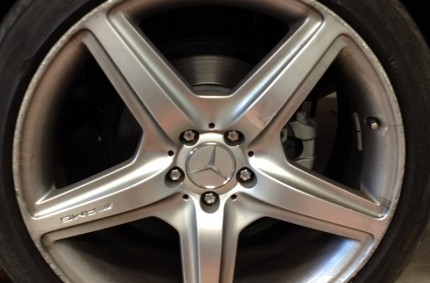 Mercedes AMG Alloy Before