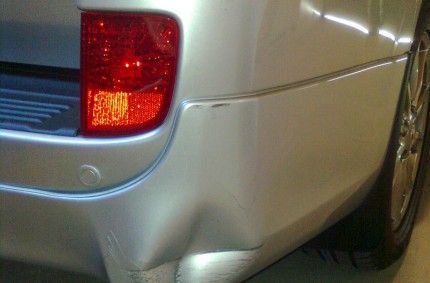 Back Bumper Before