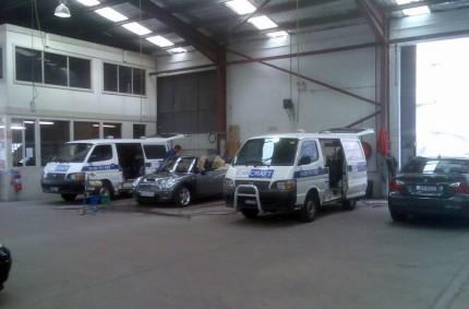 Carcraft Mobile Touchups Pty Ltd Workshop