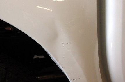 Wheel Arch Damage