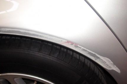 Wheel Arch Scratch